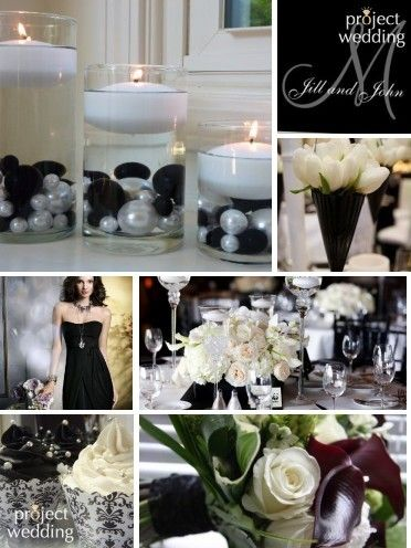 Wedding Theme Modern Vintage Black And White Partyevent Ideas