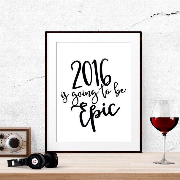 New years eve printables, New years eve party decorations ...