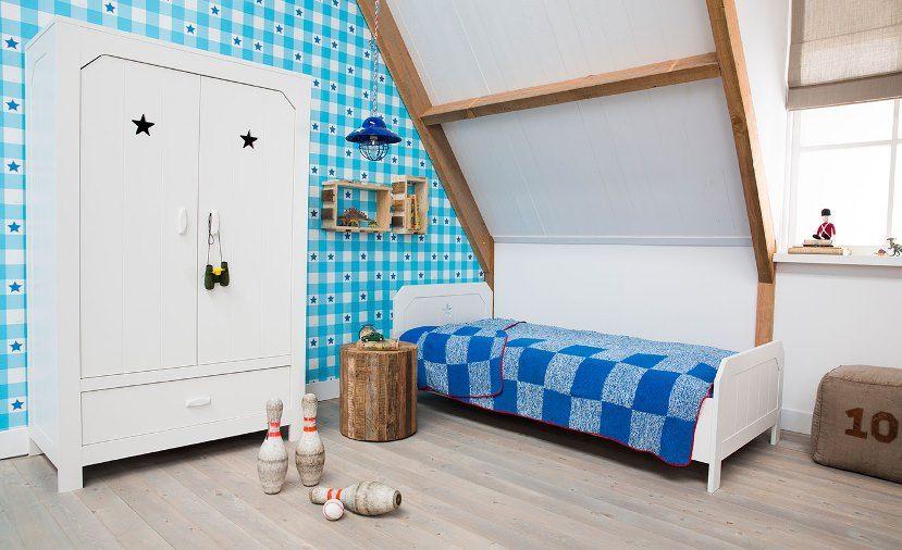Kinderkamer Lief Lifestyle : Lief lifestyle jongens kinderkamer linnenkast eenpersoonsbed