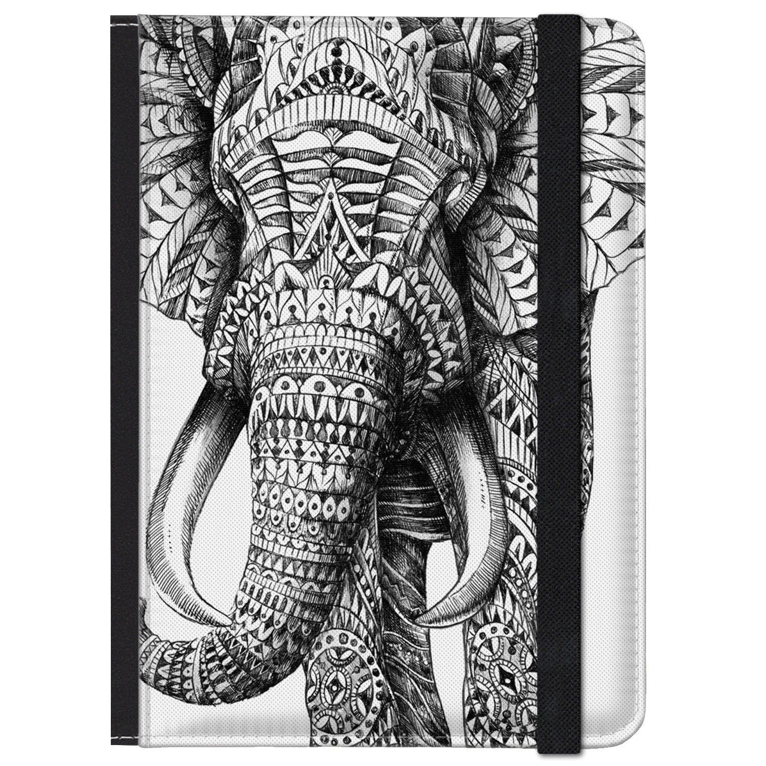 caseable Kindle and Kindle Paperwhite Case, Ornate Elephant