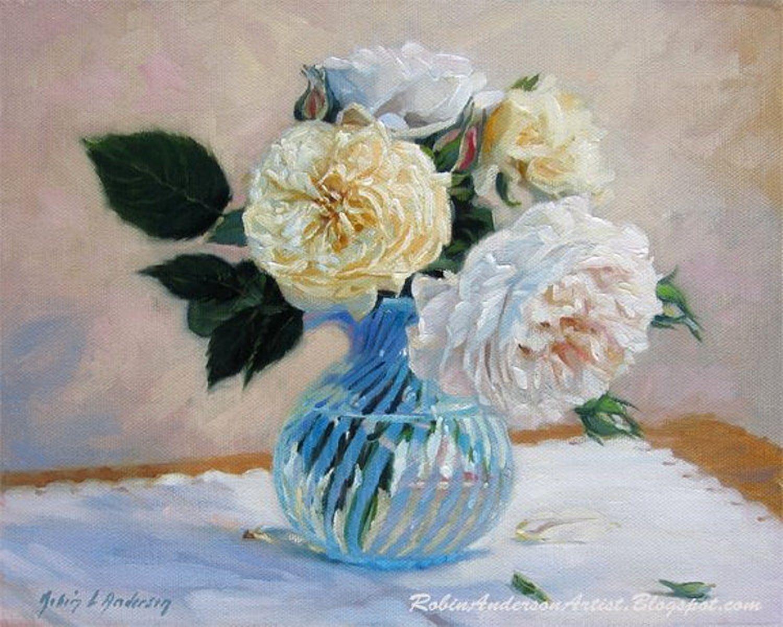 Цветочный натюрморт Robin Lucile Anderson