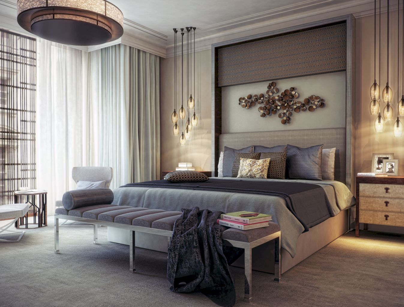 40 Super Elegant And Comfy Luxury Bedroom Ideas  Luxury Bedrooms Glamorous Luxury Bedroom Designs Decorating Inspiration
