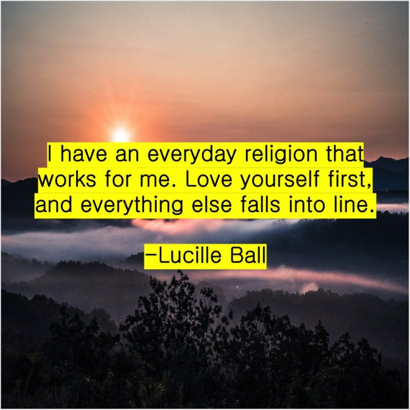 Lucille Ball  I have an everyday religion #lucilleball