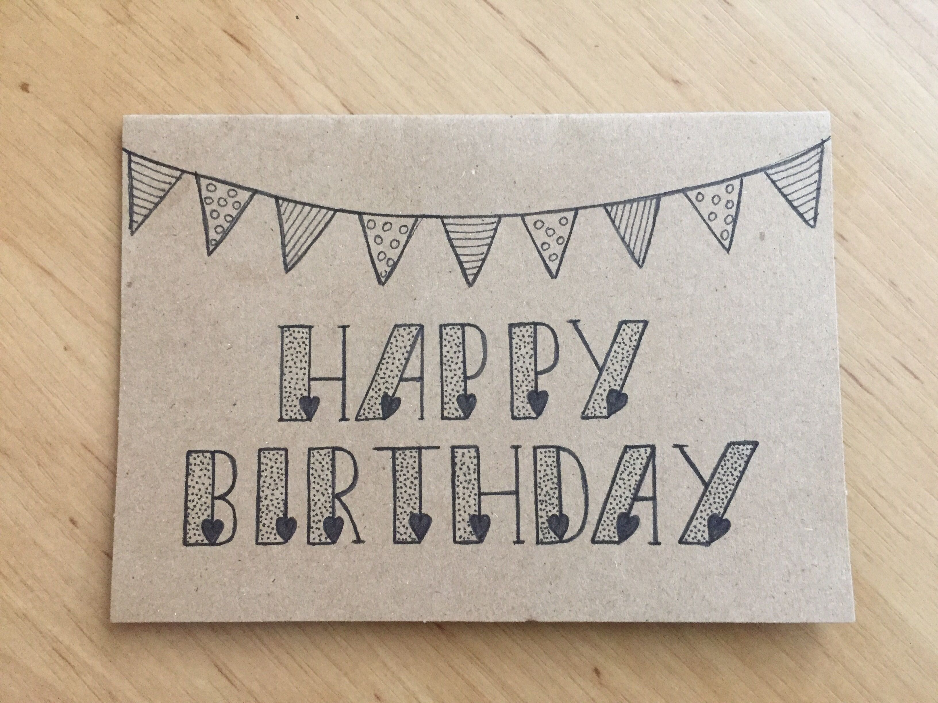 Happy Birthday Jarig Feest Birthday Card Drawing Happy Birthday Painting Bday Cards
