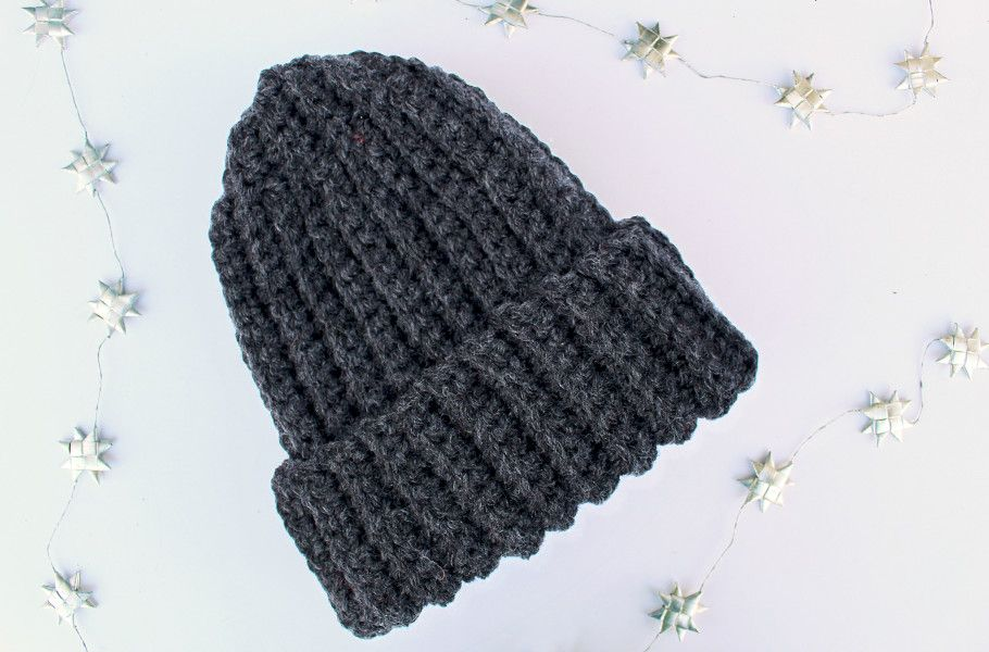 DIY Gift For Guys (and Girls!): The Best Crochet Hat Pattern