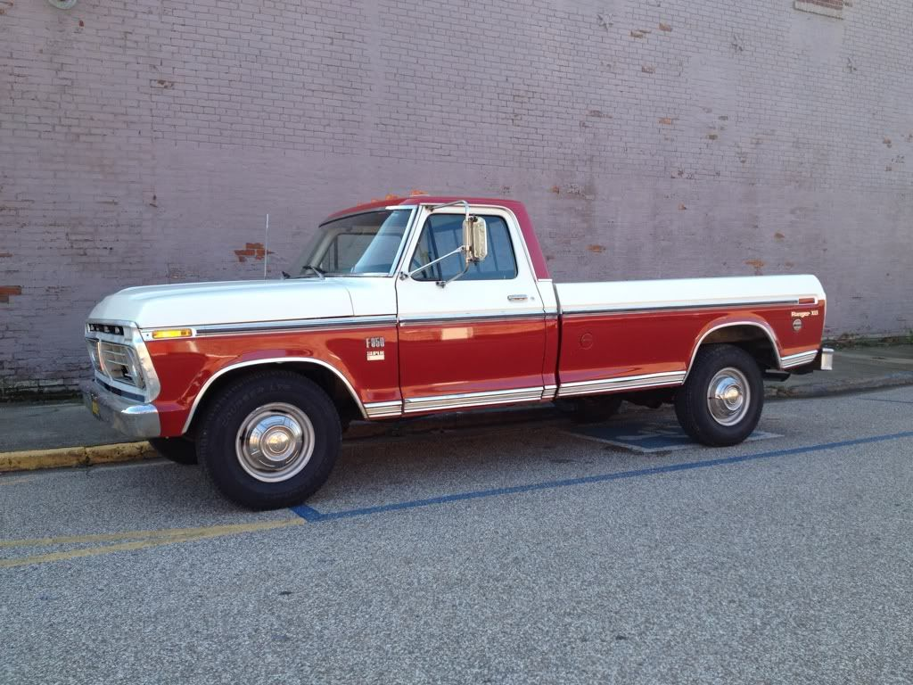 """old classic ford trucks   Running Bear""""   An Addition to Our Family ..."""