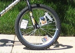Putting Baseball Cards In Your Bike Wheel Spokes Do You