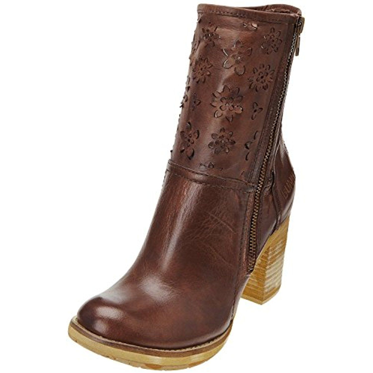 Leather Cool Brown Womens Boots ShoesFor Calf More Mid JlF1TcK