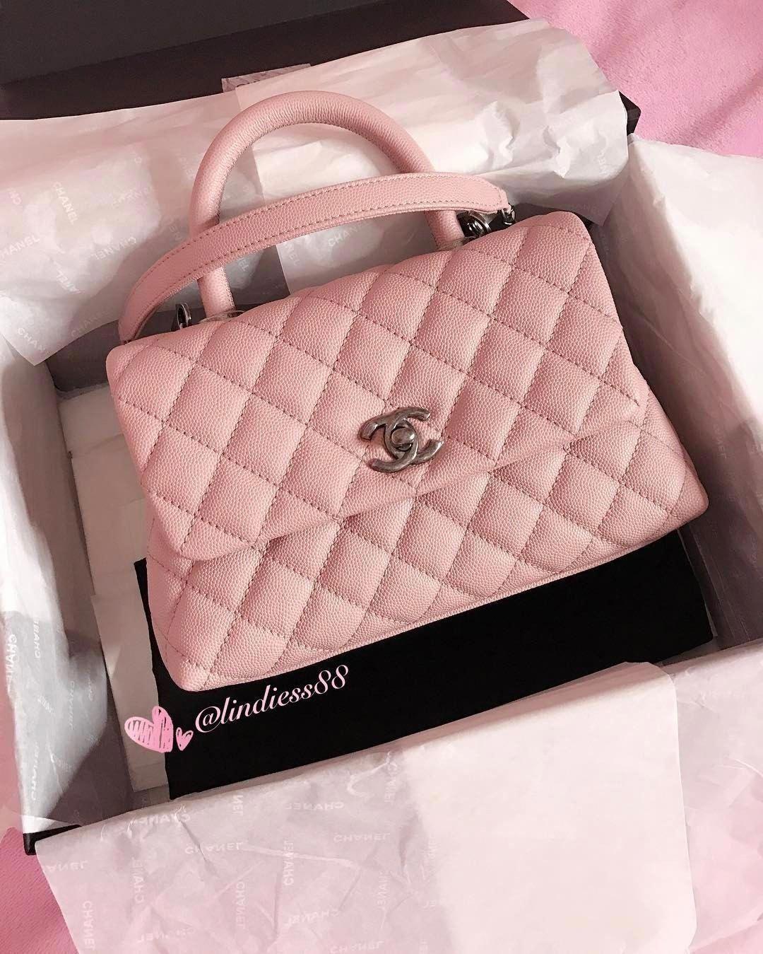d948ea77c3b0 Chanel Coco Handle mini  Chanelhandbags