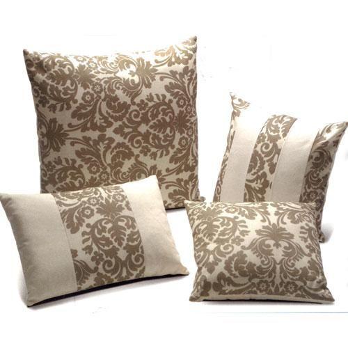 Juego de cojines elegante pillow colection pinterest - Cojines marrones ...