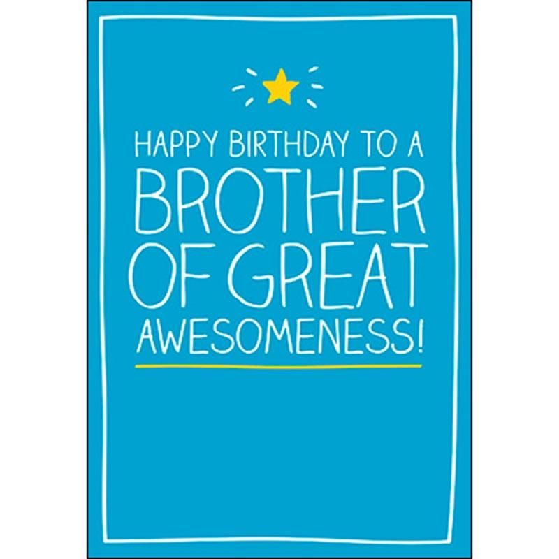Birthday card brother happy birthday to a brother of