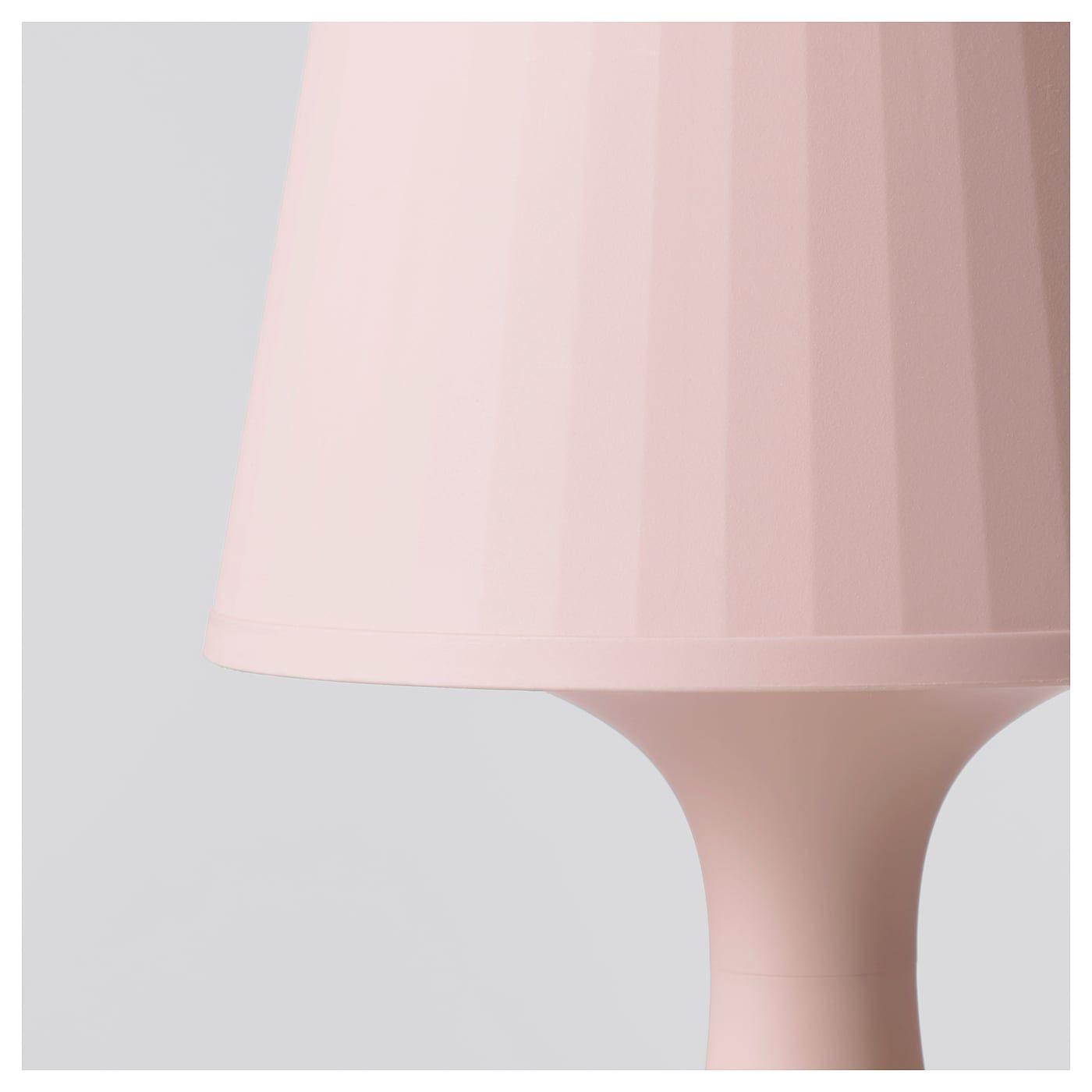 LAMPAN Tischleuchte hellrosa IKEA Österreich | Rosa