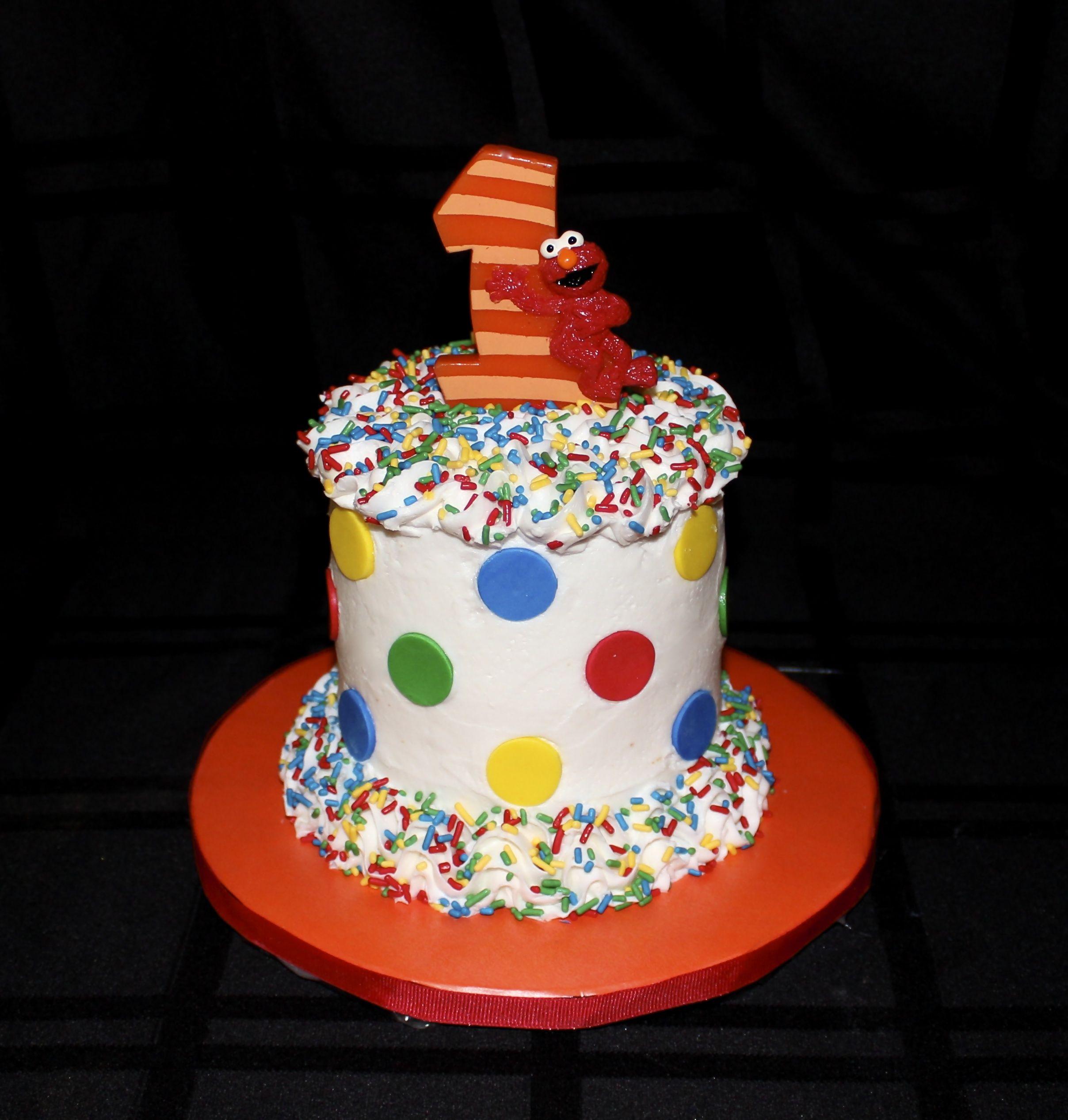 Sesame Street Elmo Smash Cake httpwwwfacebookcomILove