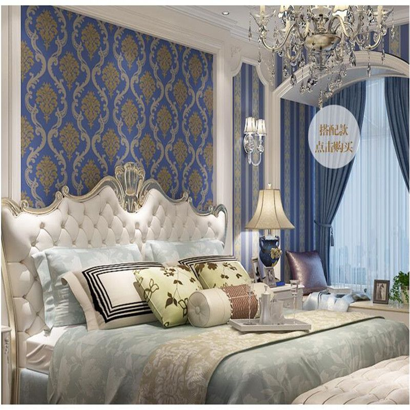 Room · Modern European Style 3D Retro Floral Living ...