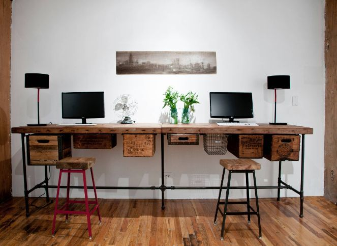 Beautiful Stylish Desks With Industrial Designs And Elegant Details