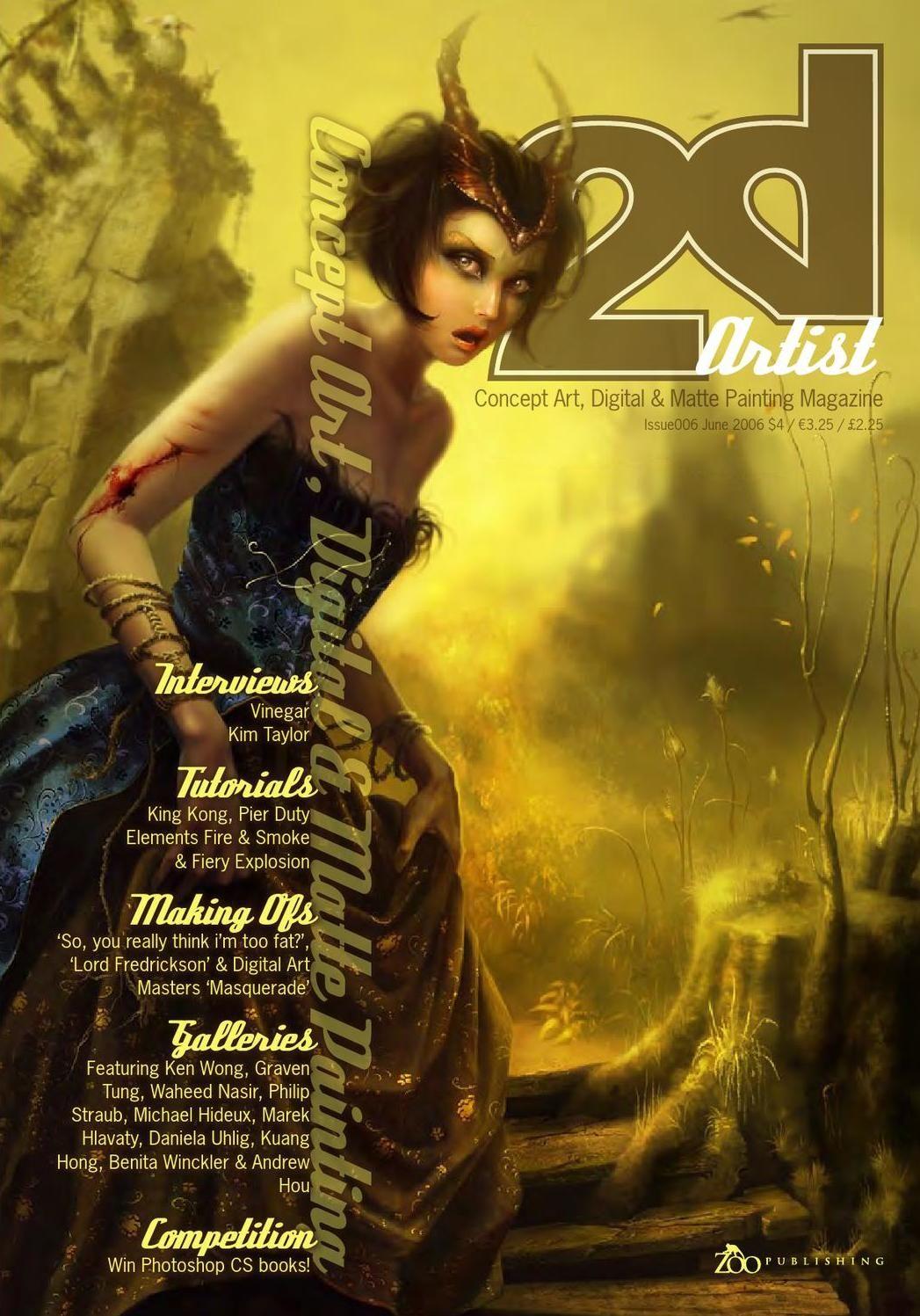 #ClippedOnIssuu from 2DArtist Magazine Issue 006 June 2006