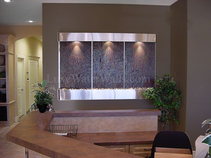 Give Your Waiting Room The Competitive Edge With A Stunning Wall Mounted  Fountain.