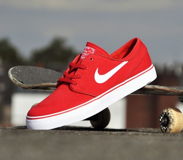 1481f7cfb8255 Nike SB Stefan Janoski Low - Varsity Red   White - Black