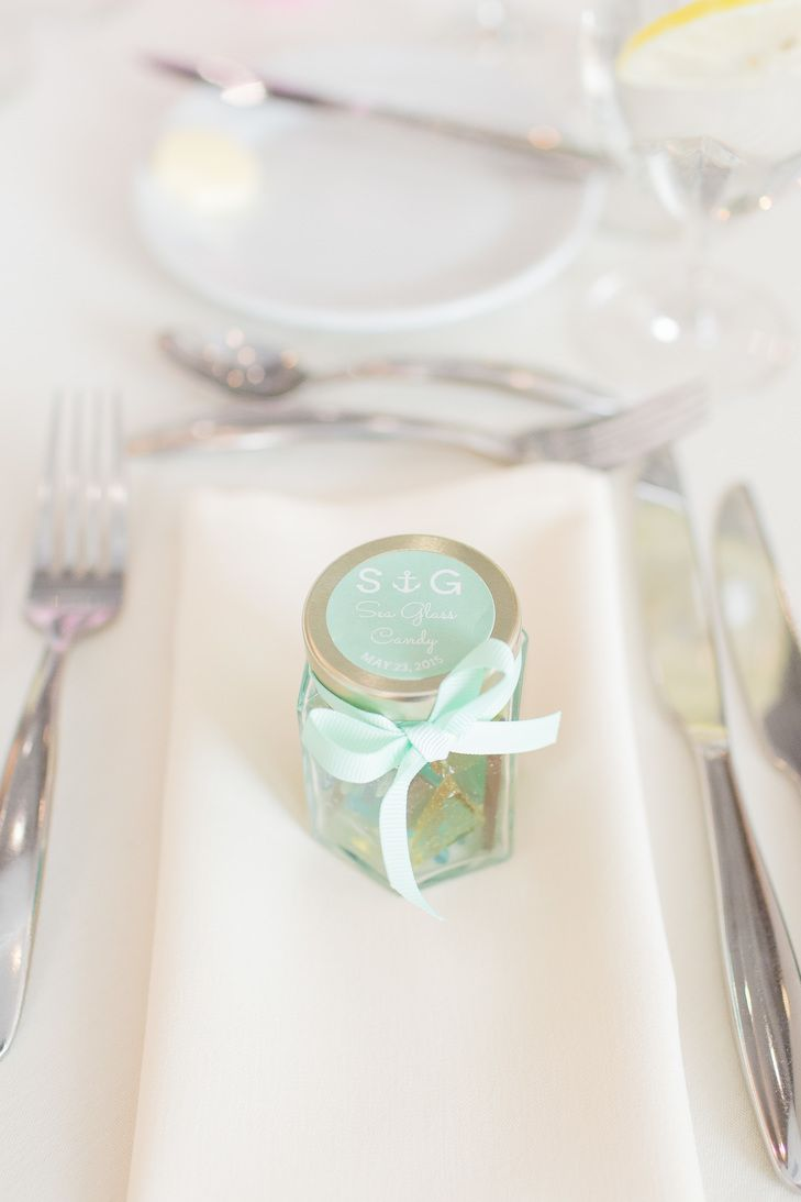 Homemade Sea Glass Candy Favors | Mon Petit Studio https://www ...