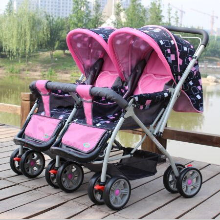 Good Seller Blue,Pink/Red/Cheap Double Stroller,Twins Baby ...