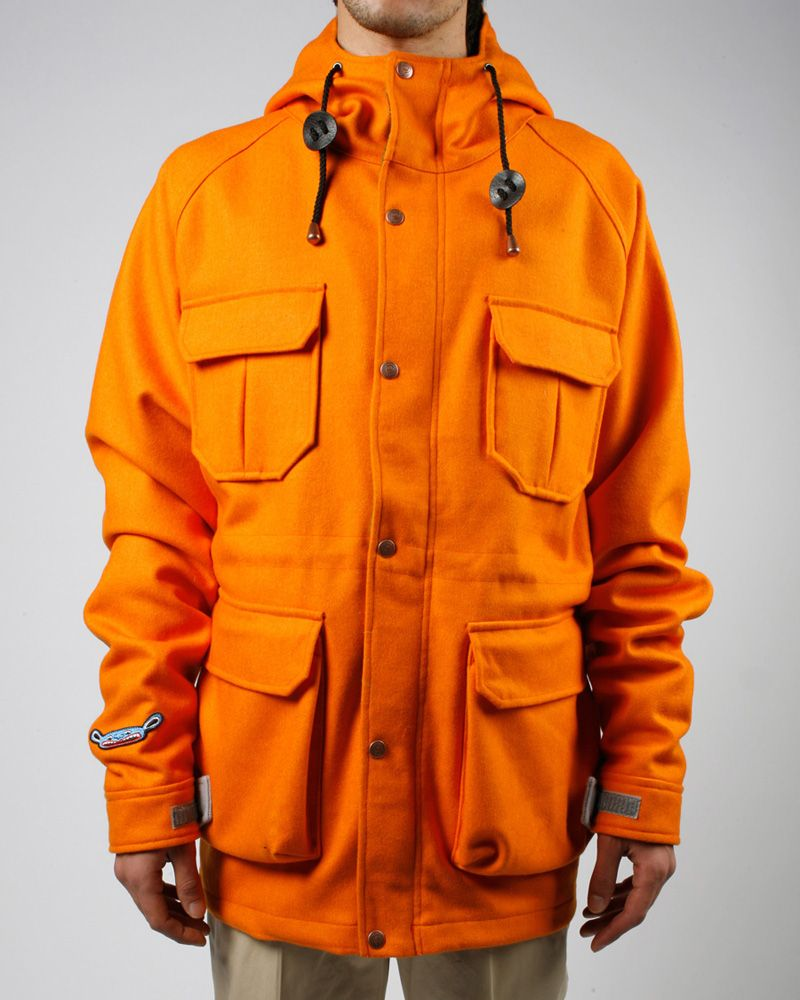 Penfield x Limoland orange parka