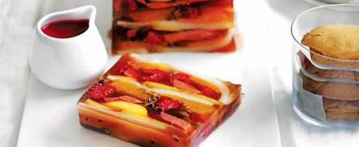 Autumn Fruit Terrine | In Season: Autumn | MiNDFOOD