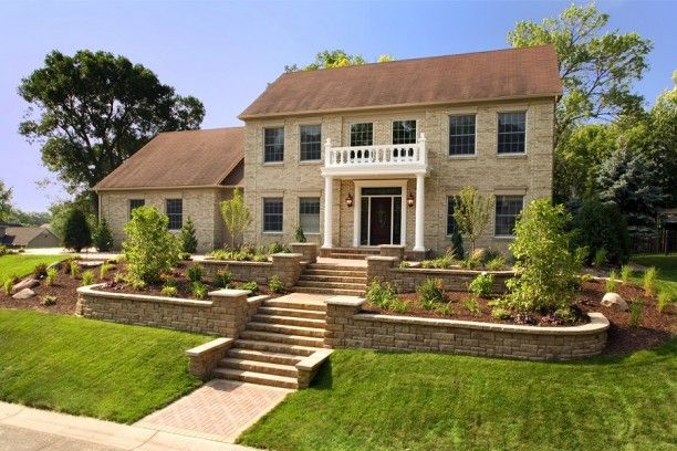 Beautiful Scenery Landscaping Ideas For Front Of House Landscaping Ideas For Front Of Sloped Front Yard Front Yard Landscaping Design Ranch House Landscaping