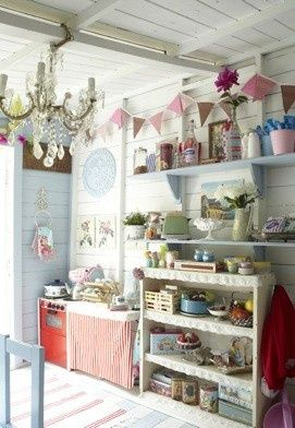 Playhouse outdoor ideas interior furniture decor also best cubby house images garden tool storage inside rh pinterest