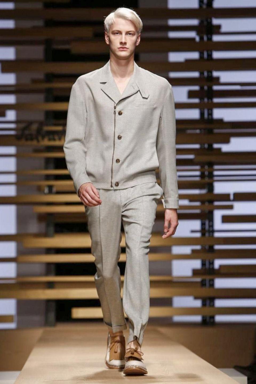 Image - Salvatore Ferragamo @ Milan Menswear S/S 2015 - SHOWstudio - The Home of Fashion Film