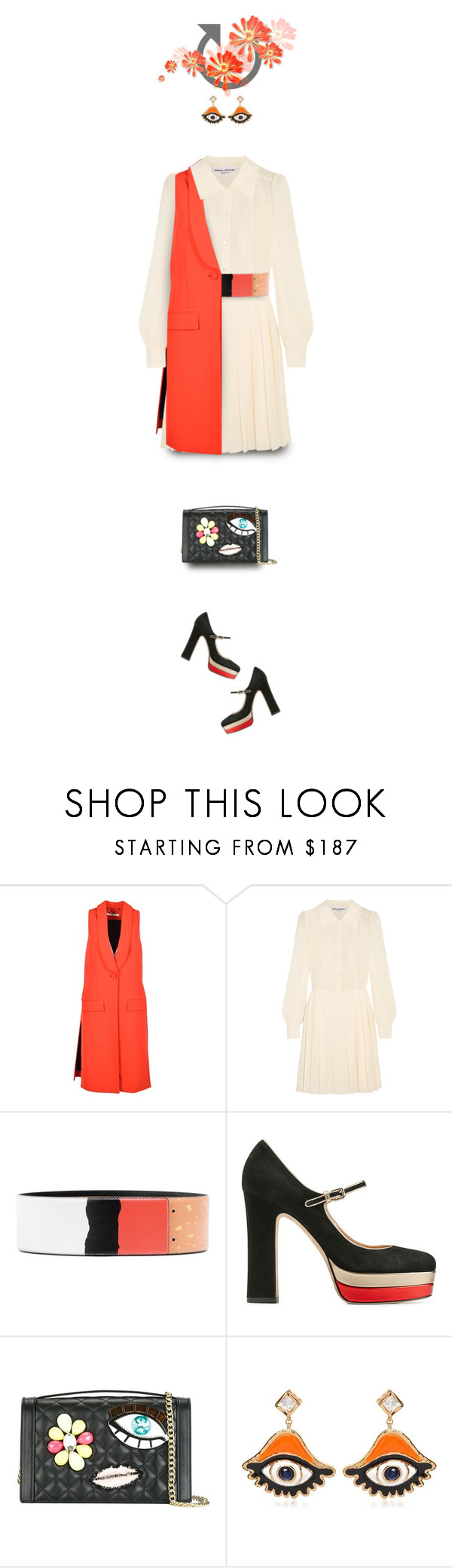 """""""angel eyes"""" by collagette ❤ liked on Polyvore featuring Givenchy, Sonia Rykiel, Moschino, Valentino, Boutique Moschino and Dsquared2"""