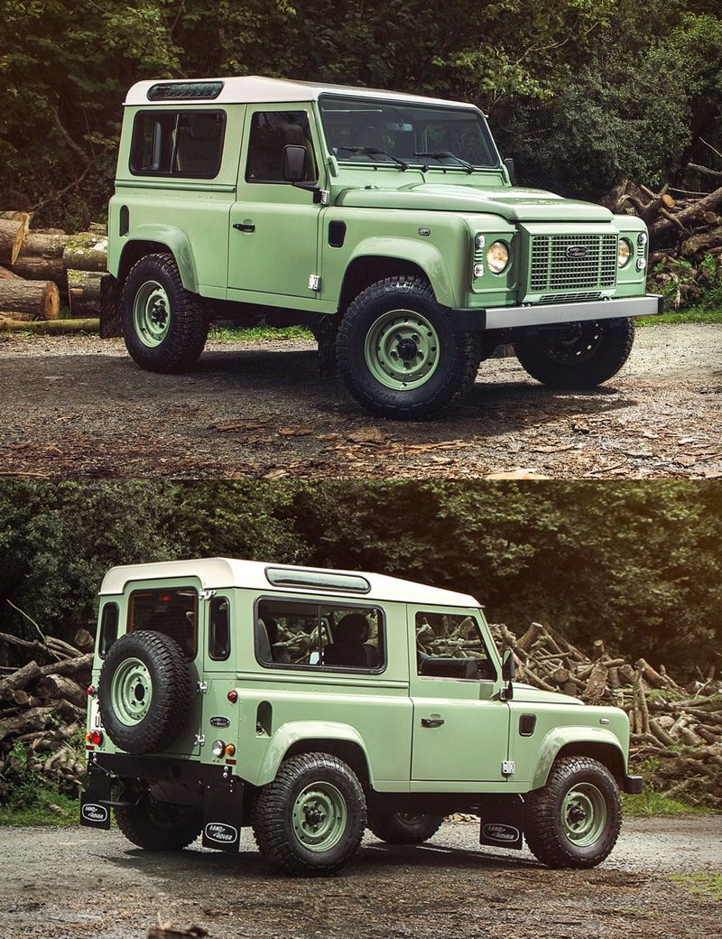 Land rover defender heritage limited edition land rover
