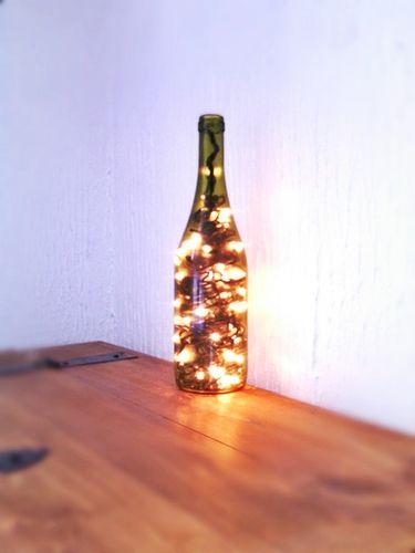 decorativa Lampara de vinoLamparasBotellas botella de hQtsrd