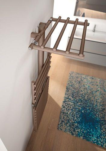 Get up, radiateur sèche-serviettes décoratif eau chaude, Irsap - puissance seche serviette salle de bain
