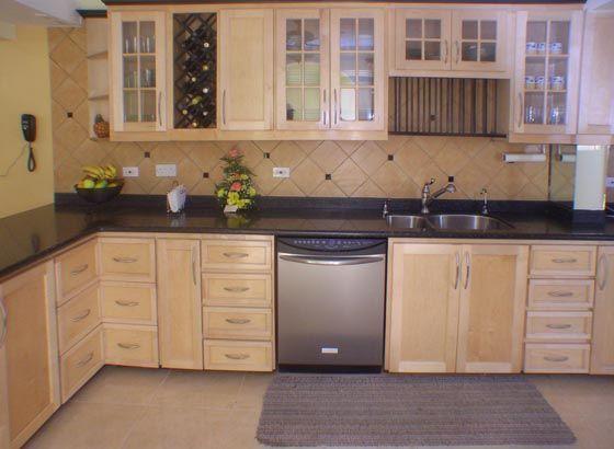Kitchen Cabinets Ideas pickled maple kitchen cabinets ...