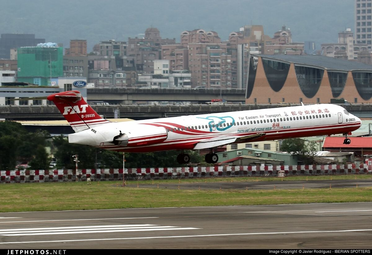 Photo of B-28035 - McDonnell Douglas MD-82 - Far Eastern Air Transport  (FAT) | Air | Pinterest | Aviation