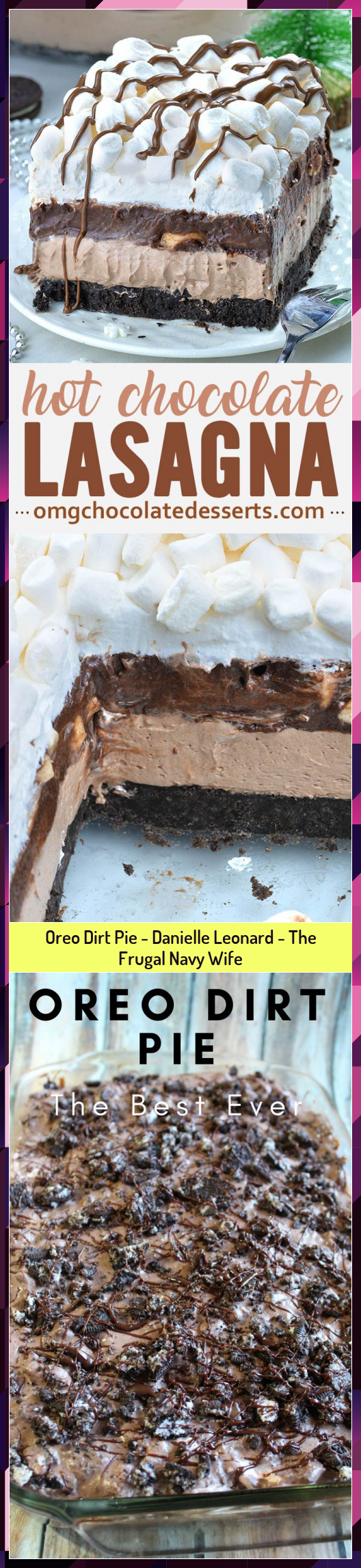 Oreo Dirt Pie  Danielle Leonard  The Frugal Navy Wife