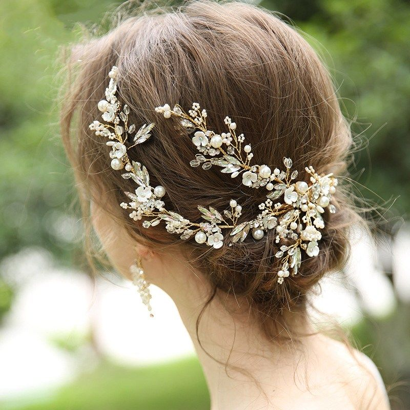 bridal rhinestones headband classic rhinestones bridal hairband wedding hairpiece Wedding hair jewelry