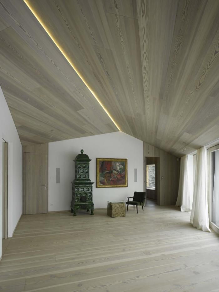 Irrsee, Austria by Bembe Dellinger House E4 in Austria from Architizer, Remodelista
