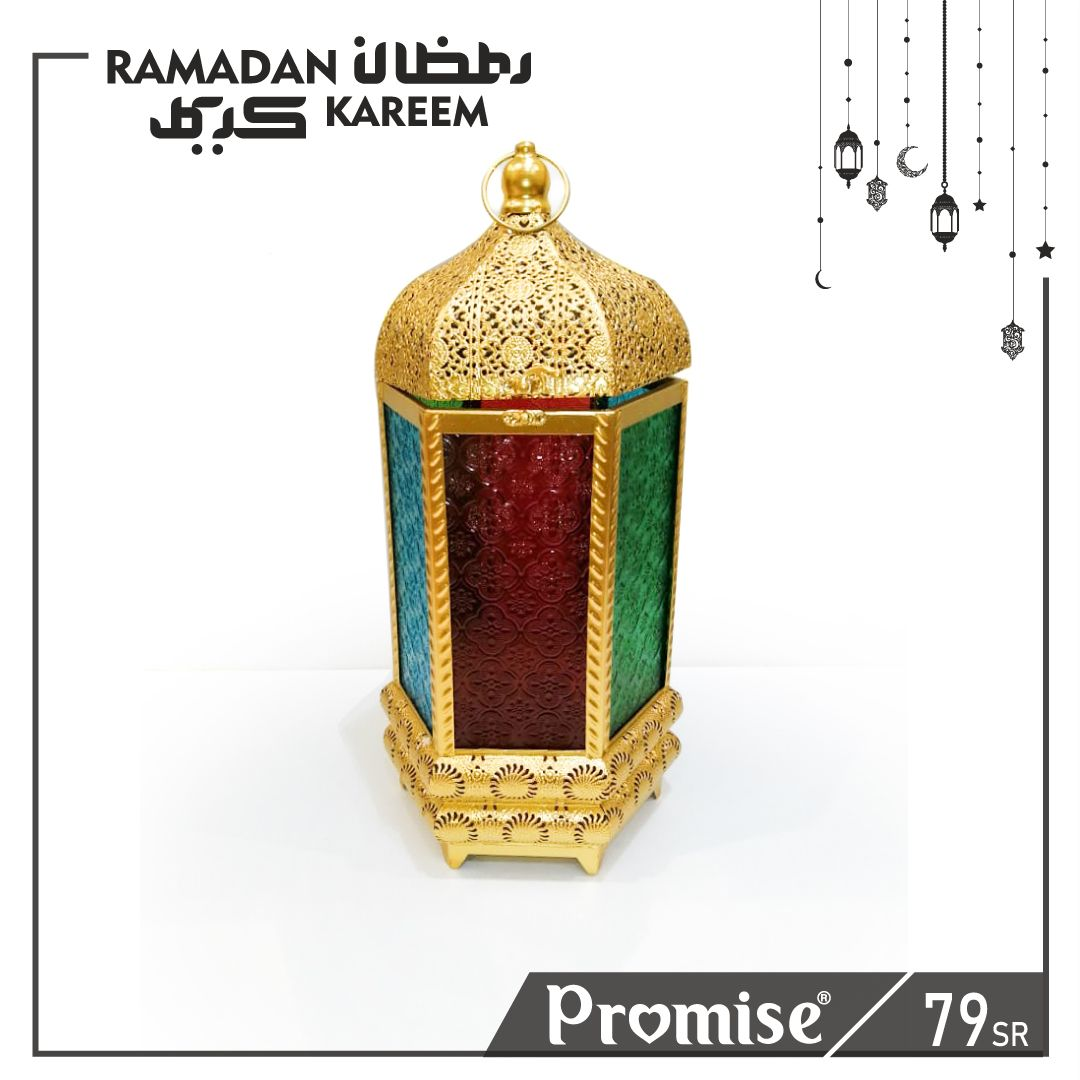 فانوس سلطان ذهبي Novelty Lamp Ramadan Lamp
