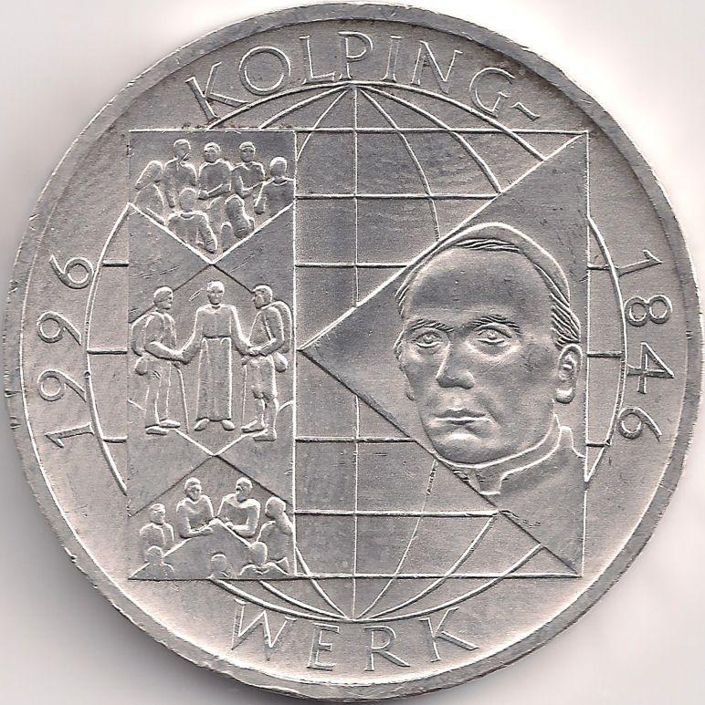 Munze Europa Mitteleuropa Deutschland Deutsche Mark 10 00 1996 Kolpingwerk