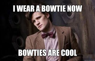 Bow ties are cool.