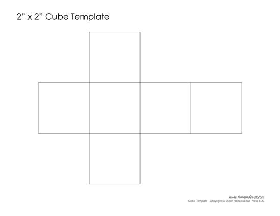 Cube Template  Teaching Writing    Cube And Template