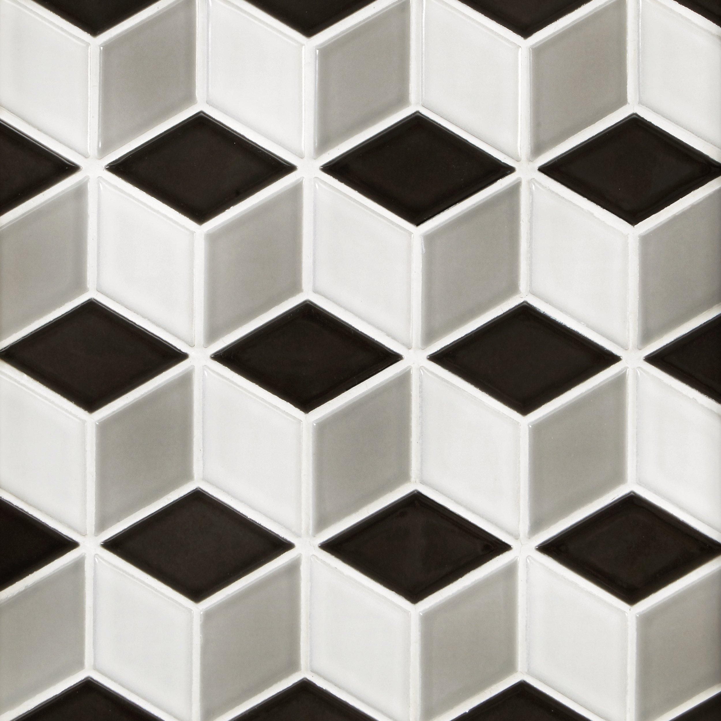 Prism Porcelain Mosaic In 2020 Porcelain Mosaic Mosaic Mosaic Glass