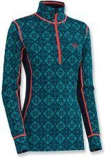 Kari Traa Rose Half-Zip Long Underwear Top - Women's