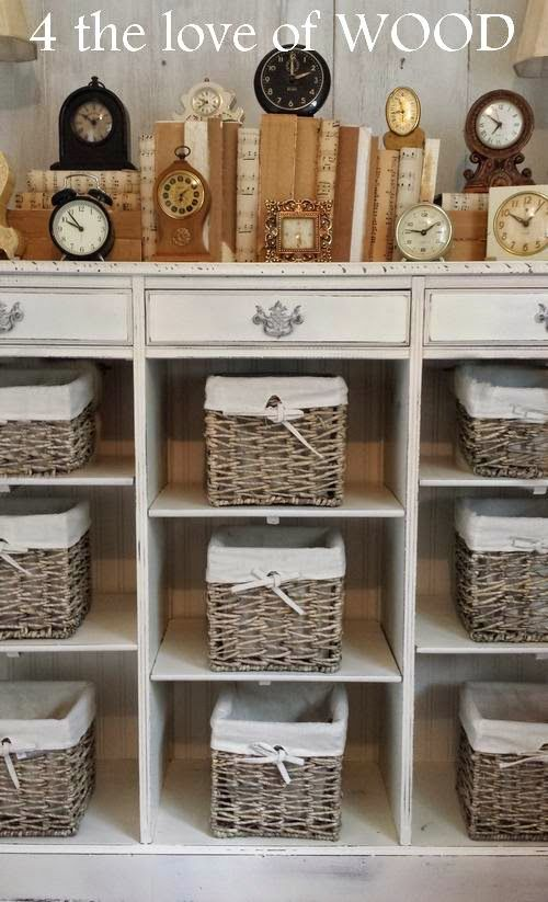 4 The Love Of Wood Using Wallpaper On Furniture Shelf