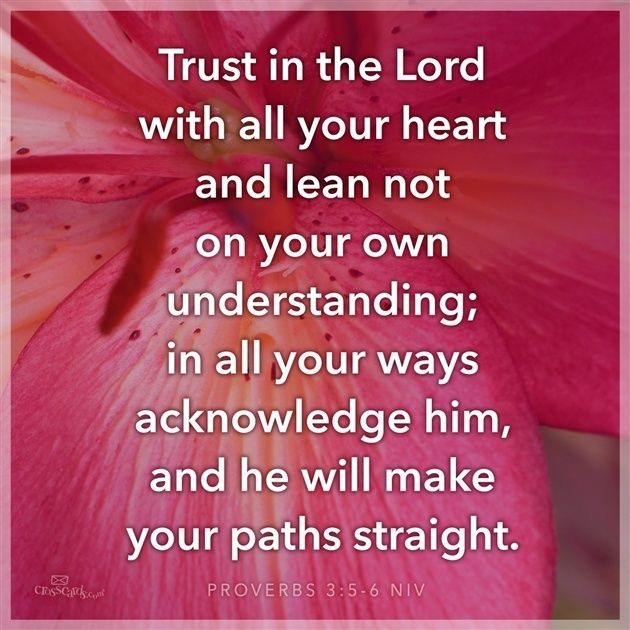 View Trust in the Lord with All Your Heart - Inspirations. Share ...