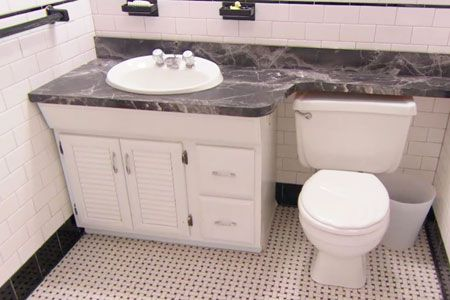 How to replace a bathroom vanity how to videos kitchen - How to replace a bathroom vanity ...