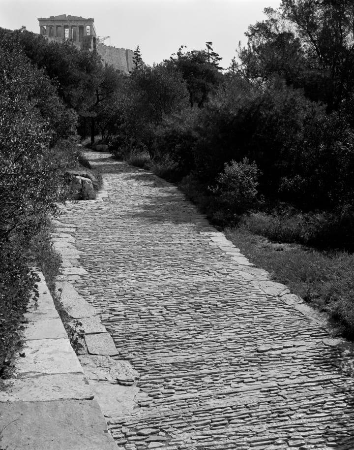 dimitris pikionis h l ne binet landscaping of the acropolis surrounding area architectural. Black Bedroom Furniture Sets. Home Design Ideas