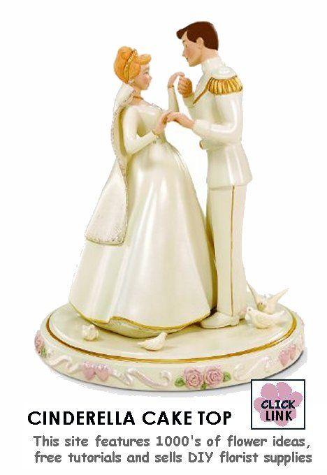 Lenox Disney Cinderella Cake Topper $144.99 | Cinderella | Pinterest ...