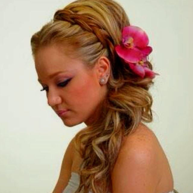 Long Hair Styles For Women Braided Updos
